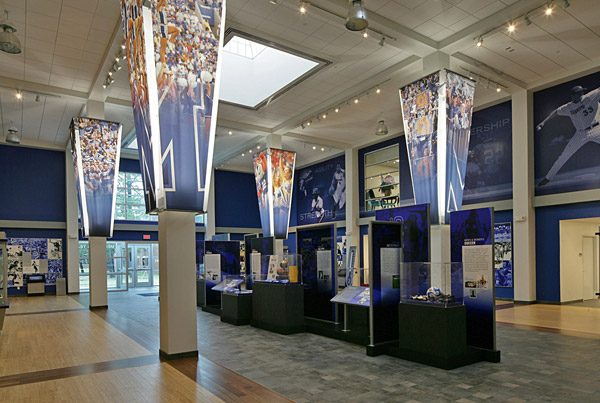 Penny Hardaway Hall Of Fame University Memphis Interior