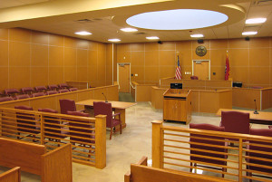 Hardeman Co Justice Center Courtroom